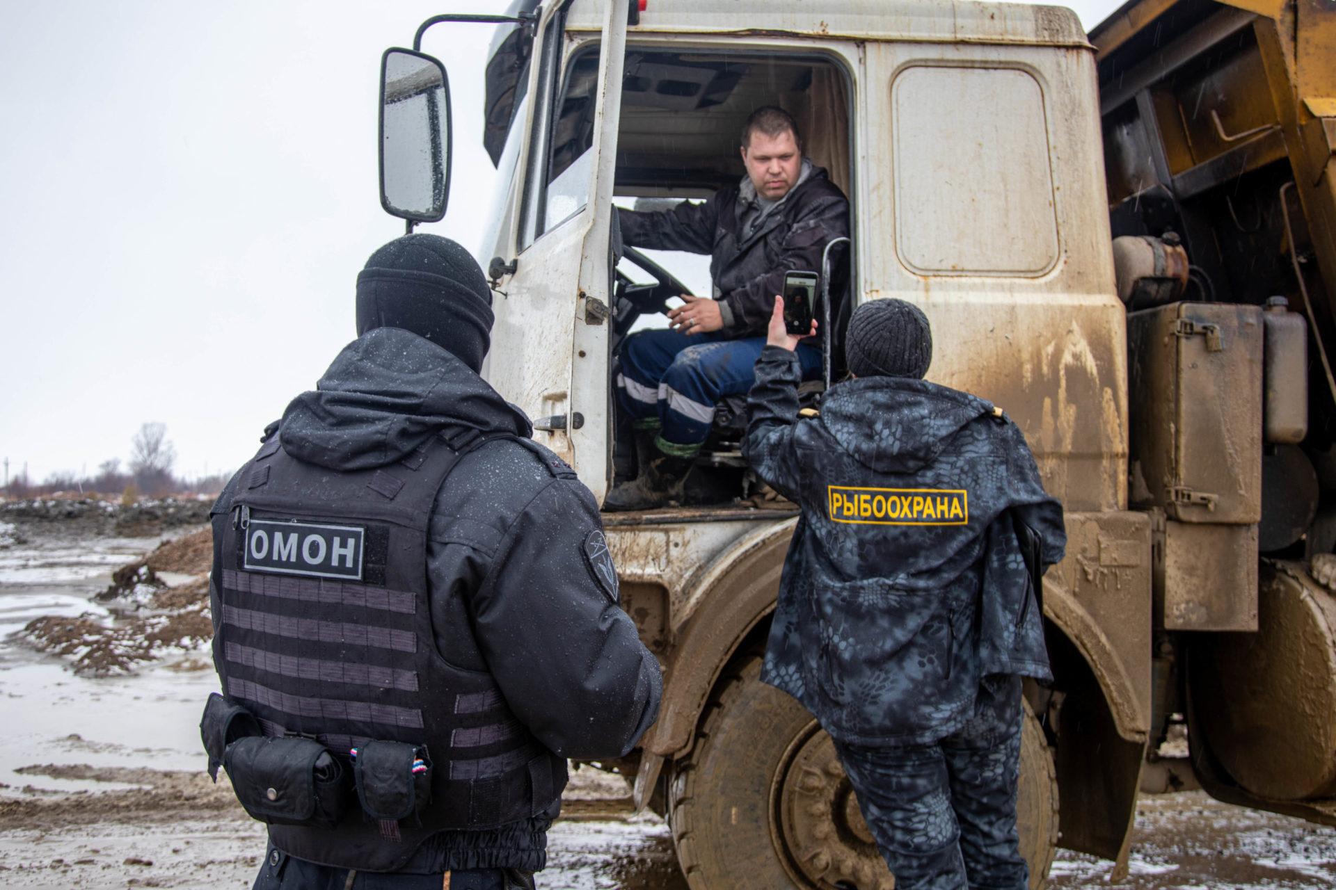 Совместный рейд ОМОН и отдела госуï